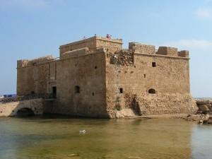Pafos zamek Paphos castle