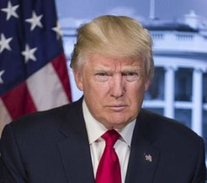 US President Mr. Donald Trump